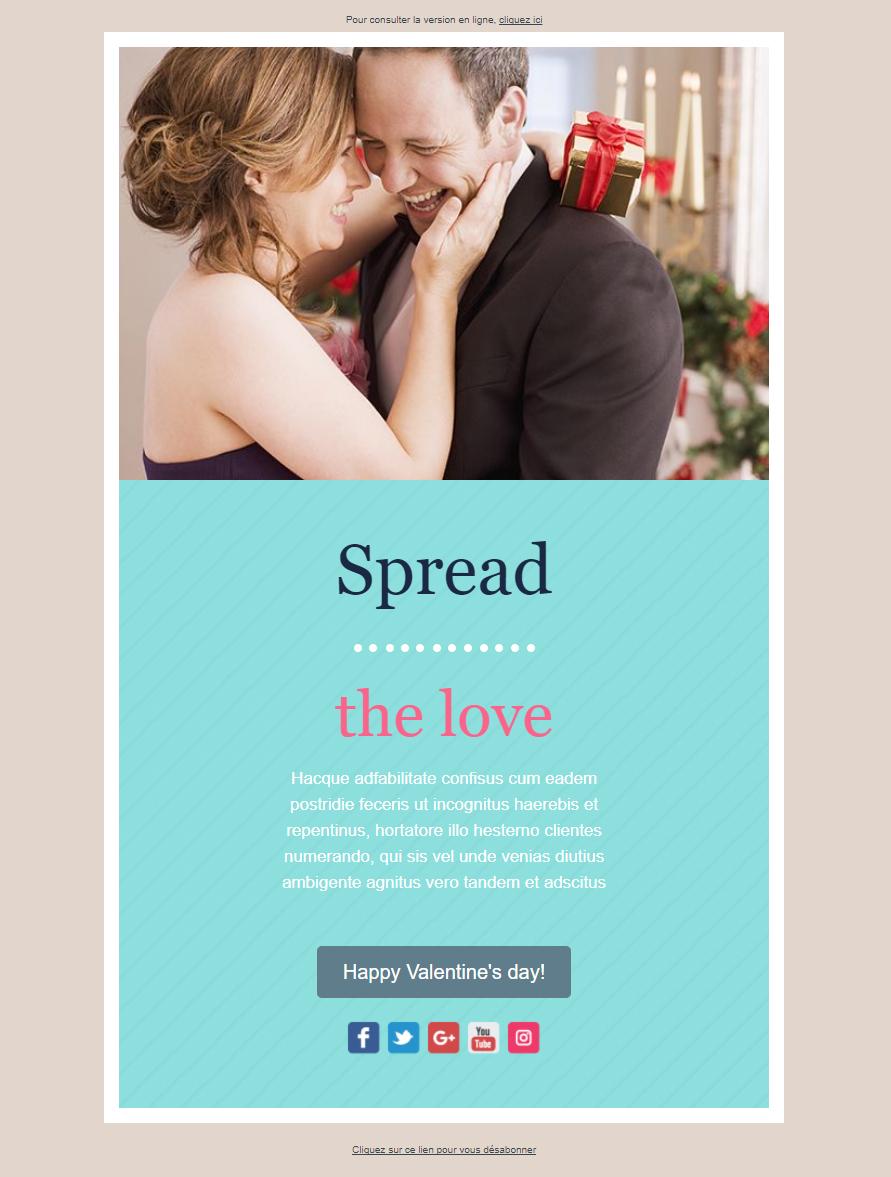 idee newsletter saint-valentin