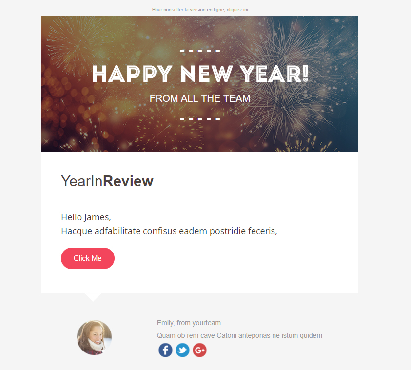 Templates Emailing YearInReview Sarbacane
