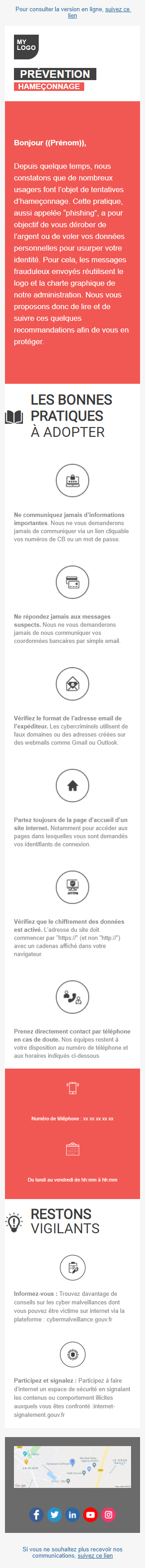 Templates Emailing Prévention Sarbacane