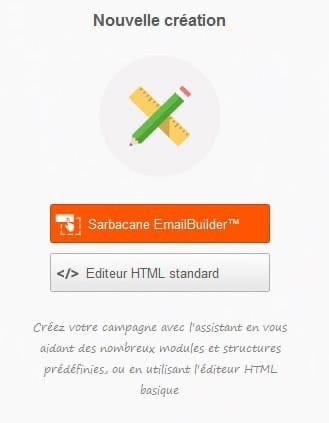 Emailbuilder Sarbacane